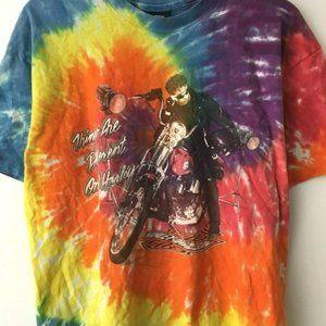 Vintage Harley Davidson Las Vegas Tie Dye Shirt XL